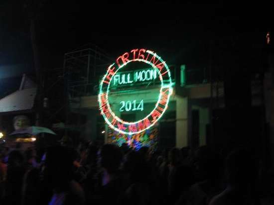 Full Moon Party: FMP 2014 sign