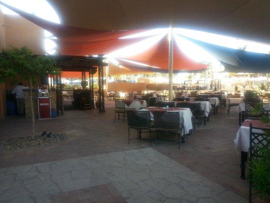 Siva Port Ghalib : restauracja