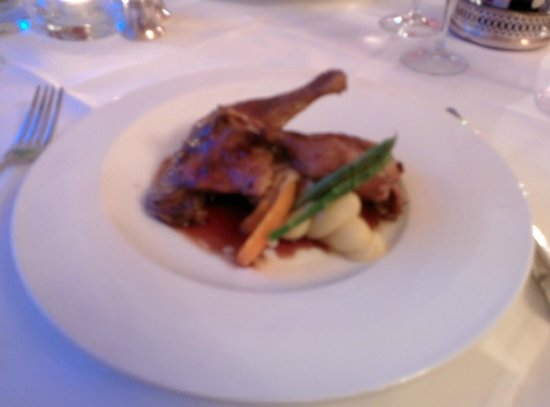Dunbrody Country House Hotel: Confit of Duck