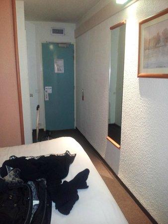 Ibis Lyon Est Bron : Camera per 2 persone con letto matrimoniale
