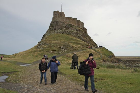 Lindisfarne Castle: The way home