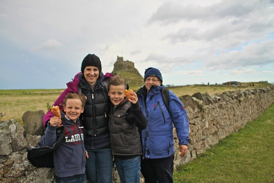 Lindisfarne Castle: Quick snack