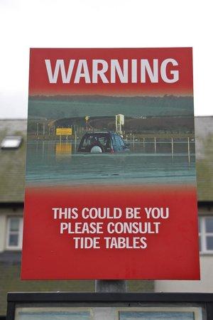 Lindisfarne Castle: Don't get complacent