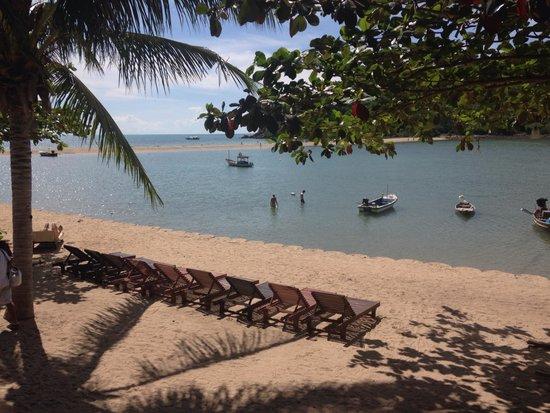 Maehaad Bay Resort: View from restaurant