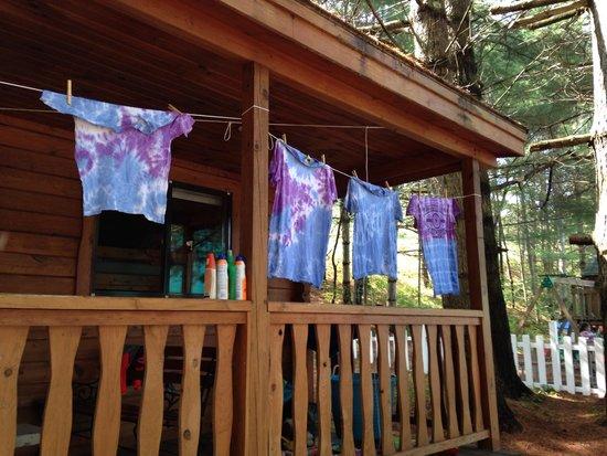 Yogi Bear's Jellystone Park Camp-Resort at Paradise Pines : Tye Dye Craft