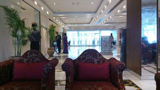 The Gateway Hotel, Agra : レセプション