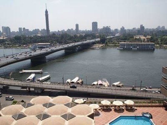Ramses Hilton: 部屋からの眺め