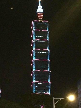 W Taipei: Aussicht Zimmer 16th Floor