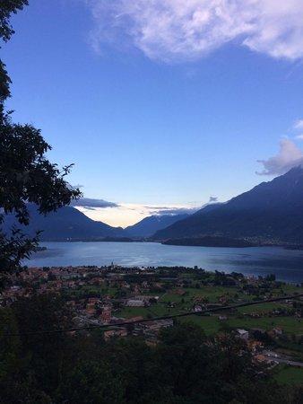 Alto Lago di Como : View on the way to Crotto Bercini
