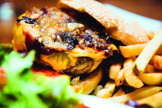 Le Divil : Burger du Divil steak 100% pur boeuf haché