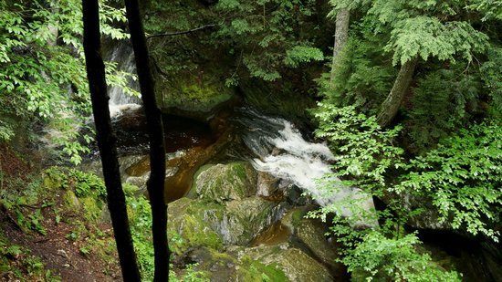 Sterling Falls Gorge Stowe VT August 2014