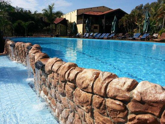 Recanto Alvorada Eco Resort : Lindas piscinas.