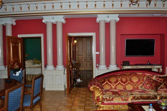 Trezzini Palace Hotel: Гостинная