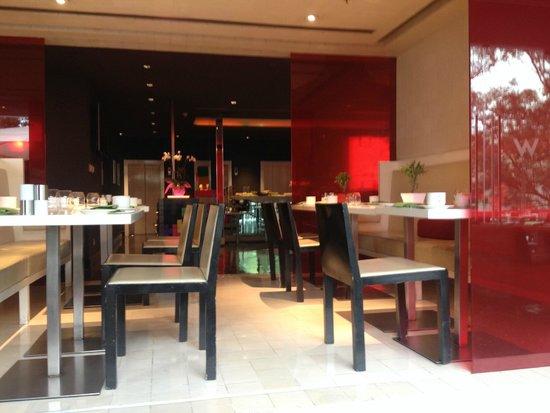 W Mexico City: Frühstücksraum