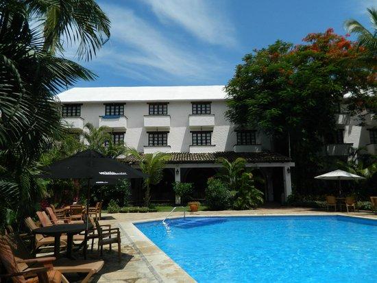 Villa Blanca Huatulco: Vista del restaurant