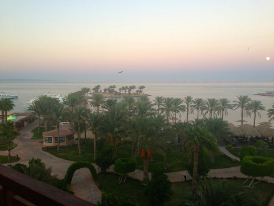 Mövenpick Resort Hurghada: Blick vom Zimmer