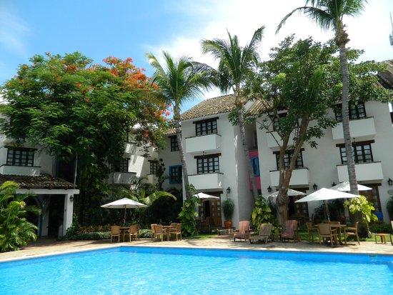 Hotel Villablanca Huatulco: Las habitaciones con terraza en planta baja