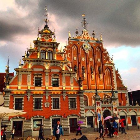 Old City Riga (Vecriga): Дом Черноголовых