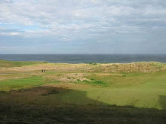 Cabot Links Resort: view from the course
