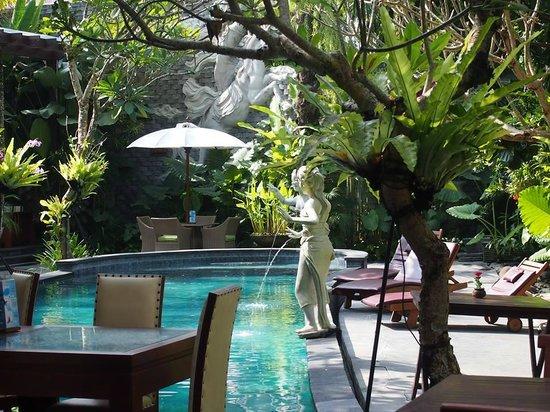 The Bali Dream Villa & Resort: Pool area