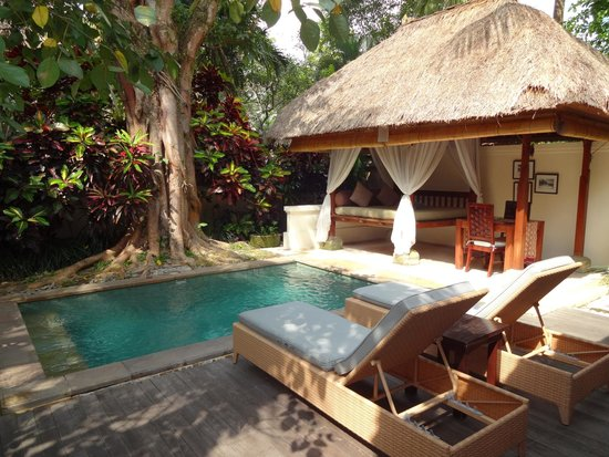 The Ubud Village Resort & Spa: Unsere eigene Poolanlage ♥