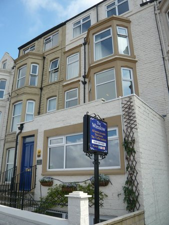The Wimslow Guest House: The Marine Road side of the Womslow
