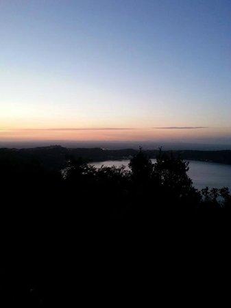 Fauno del Bosco : La vista al tramonto