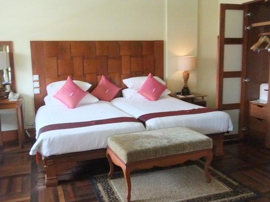 Sokha Angkor Resort : ベット