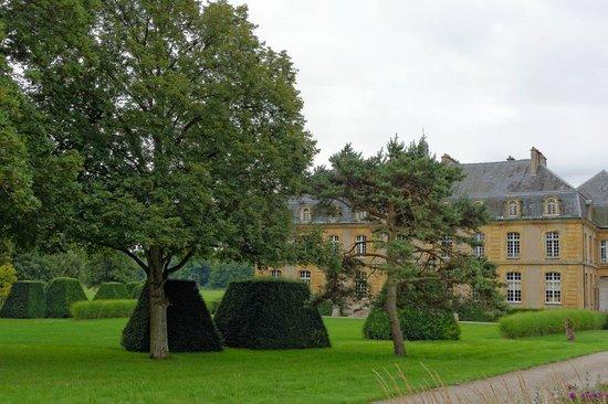 Chateau de Pange : Jardin du château de Pange, c