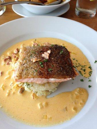 The Kitchen Brasserie : Sea trout