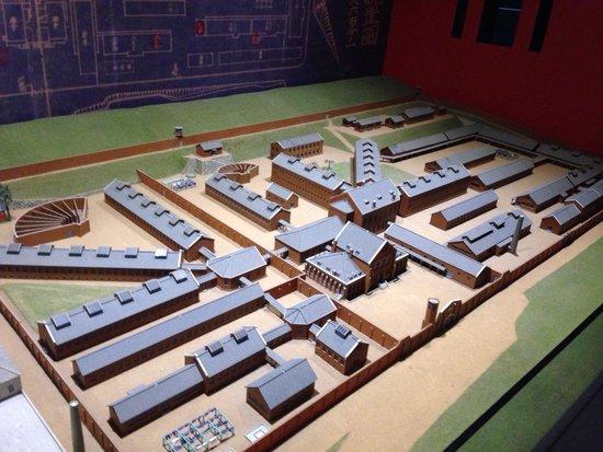 Seodaemun Prison History Hall: 西大門刑務所全体模型
