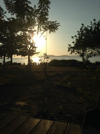 Pearl Beach Resort : lever du soleil