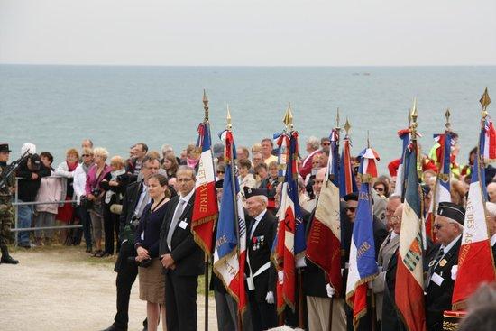 Plages du Débarquement de la Bataille de Normandie : celebracion