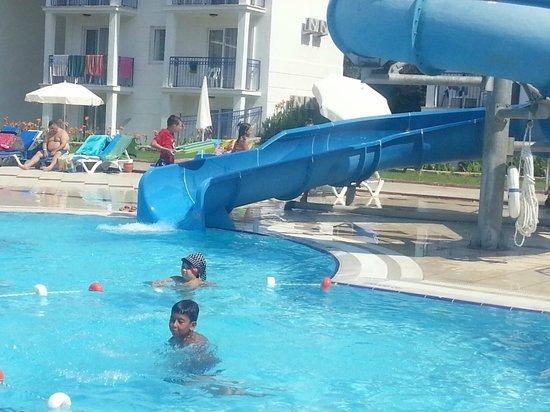 NOA Hotels Oludeniz Resort Hotel: in famous slide