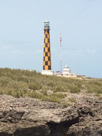 Memories Flamenco Beach Resort : Light house on fishing tour one of the best spots to fish