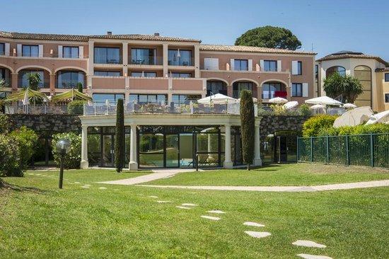Hotel Les Jardins de Sainte-Maxime : JARDINS