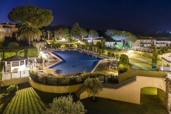 Salle Restaurant Picture Of Hotel Les Jardins De Sainte