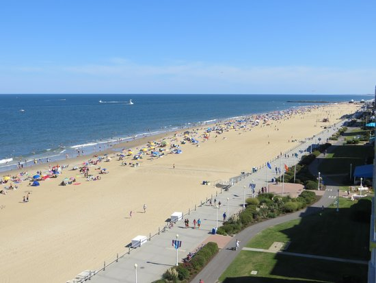 BEST WESTERN PLUS Sandcastle Beachfront Hotel: View from room 905