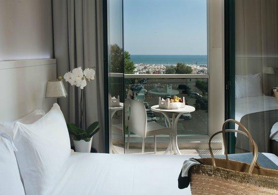 Hotel Villa Rosa Riviera : Camere Vista Mare