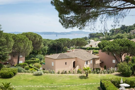 Hotel Les Jardins De Sainte Maxime Vue La Villa Rose