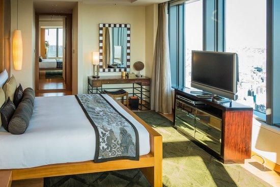 Mandarin Oriental, Tokyo : mandarin suite 35th floor (room 3514)