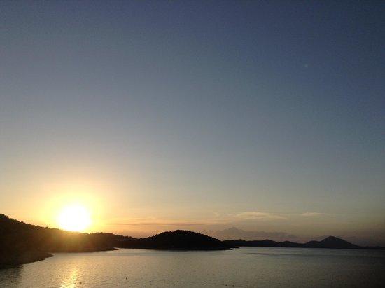 Vitality Hotel Punta: vista del tramonto dal nostro appartamento