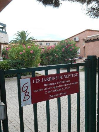 Les Jardins de Neptune : portes