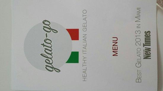 Gelato-go South Beach : Gelato-go