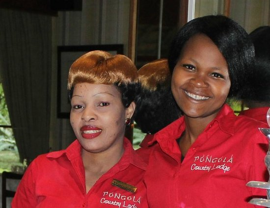 Pongola Country Lodge: Our super friendly staff