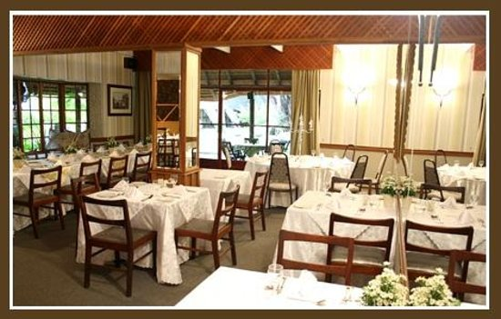 Pongola Country Lodge: Dining room with value for money cuisine