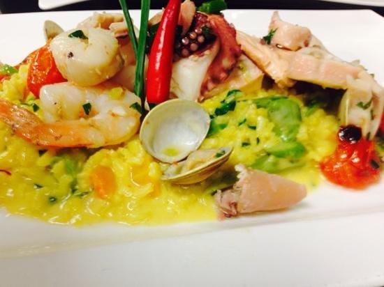 Autostrada A1: seafood risotto