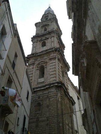 Basilica Cattedrale Maria Santissima della Madia: Campanile
