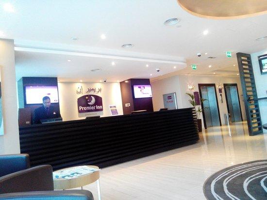 Premier Inn Abu Dhabi Capital Centre Hotel: Reception