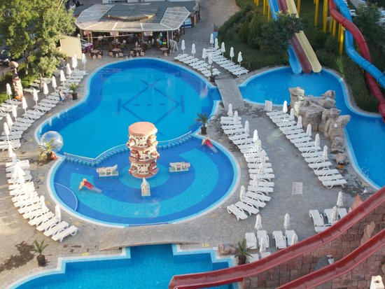 Kuban Resort & Aquapark: view from window